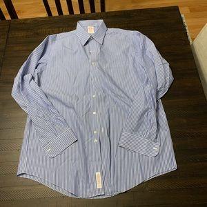 Brooks Brothers Cotton Non Iron Dress Shirt